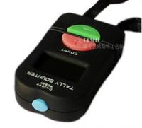 Handhållen Elektronisk Digital Tally Counter Clicker Säkerhet Sport Gym Skola Högkvalitativ Svart Färg 100 Stycken U5