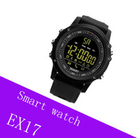 EX17 reloj inteligente impermeable Swim Long Time Stanby fitness tracker smartwatch para iOS Android con paquete al por menor