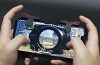 D9 게임 방아쇠 불 단추 조준 열쇠 똑똑한 전화 이동할 수있는 게임 PUBG 게임을위한 L1R1 총격 사건 관제사 50PAIR / LOT