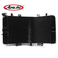 Arashi radiateur pour Suzuki GSXR 1300 2008 - 2016 GSX R Cooling GSXR GSXR1300 Hayabusa 2009 2010 2011 2012 2013 2014 2015 Noir
