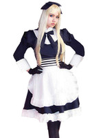 APH Hetalia Vitryssland Cosplay Axis Powers Natasha Alfrokastaya Maid kostym
