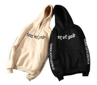 Fashion Clothes Fear Of God Hoodie Beige Purpose Tour Sweats...