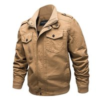 Military Jacket Men Winter Cotton Coat Army Pilot Jacket Air...