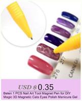 Belen 1 stücke Nail art Werkzeug Magnet Stift für DIY Magie 3D Magnetic Katzen Augen Polnischen Maniküre Gel 3D Tipps Malerei Punktierung Magnetische
