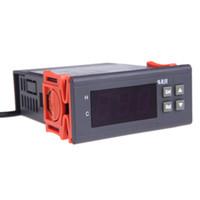 Freeshipping 10a 220 فولت تحكم البسيطة الهواء الرطوبة تحكم الرقمية تحكم متر استشعار higrometre hygrostat