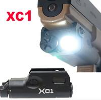SF XC1 로우 프로파일 250 루멘 LED 라이트 피스톨 M92 손전등 적합 20mm 레일 블랙 다크 어스