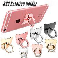 Supporto per anello per cellulare Anello per cellulare Supporto per anello in metallo Anello per fibbia per il telefono mobile Supporto per supporto a 360 gradi per tutti gli smart phone