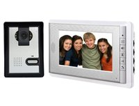 7 Zoll Monitor Video-Türsprechanlage Intercom System Türklingel Kamera visuelle Gegensprechanlage Türklingel Video Intercom Türsprechanlage für Zuhause