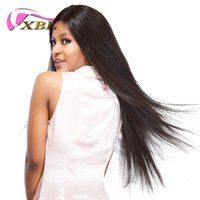 xblhair body wave&straight human hair wig virgin brazilian h...