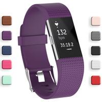 Cinturino da polso da polso Smart watch cinturino cinturino morbido ricambio ricambio smartwatch banda per fitbit caricamento 2