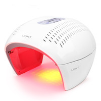 LED Facial Mask Photon Light Energy Therapy Lamp Facial Care...