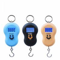 150 Pz / lotto 10 g / 40 kg Mini a forma di Zucca Tasca Bilancia Elettronica Digitale Appeso Bagagli Peso Balance Stadera Utensili Da Cucina