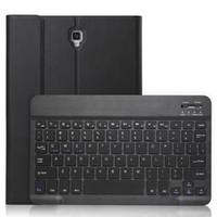 Yüksek Kalite Kılıf Samsung Galaxy Tab 10,5 T590 T595 2018 Çıkarılabilir Kablosuz Bluetooth + Stylus için klavye Kapak Dahili