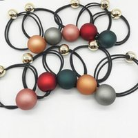 elastici per capelli gioielli capelli per le donne macchia perla rotonda capelli piazza elastici caldo di modo libero di trasporto