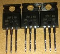 Freies Verschiffen IRF840 IRF840P IRF840PBF TO220 Neues und ursprüngliches 10PCS / LOT