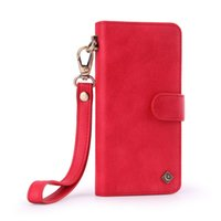 Fashion Hand Rope Wallet Phone Case for iPhone X 6 7 8 Plus ...