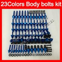 Kit de tornillos completos de tornillos de carenado Para YAMAHA FJR1300 06 07 08 09 10 12 FJR 1300 2006 2007 2008 2010 2012 Tuercas de cuerpo tornillos kit de tornillos de tuerca 25 colores