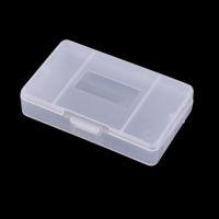 Caja de cartucho de juego de plástico transparente duro Caja de almacenamiento transparente para GameBoy Advance GBA Juego de tarjetas de juego Protector de alta calidad ENVÍO RÁPIDO