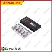 Original Kanger Clapton Coils Heads 0.5ohm Bobinas de Substituição Clapton Para Kangertech Subtanque Mini Subtanque Nano Subtanque Além de Tanque Nebox SUBVOD