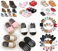 320 styles for choose!Fashion Baby Shoes Soft sole Slip- on B...