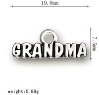2021 palavra avó charme estilo de verão Outras jóias personalizadas