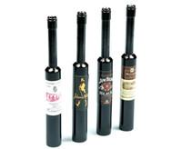 핫 핀 파이프 알루미늄 smokePIPE 레드 와인 병 필터 담배 입 출구 작은 파이프 78MM