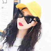 6 ألوان جديدة مثير لطيف برشام نظارات الشمس العلامة التجارية بات المتضخم القوس عقدة نظارات المرأة cateye الرقص حزب نظارات مصمم فراشة نظارات