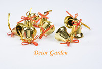 5cm Golden Bell Christmas Tree Strap Wind Chimes Accessories...