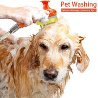 Pet Dog Dog Massage Shower Sprinkler Peignes pour animaux de compagnie Chien Bain Beauty Supplies Pet Supplies