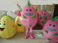 2018 hochwertige mango drachen obst wassermelone cartoon puppen maskottchen kostüme requisiten kostüme halloween kostenloser versand