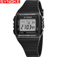 Wholesale Synoke Men Water 50m Resist Chronograph Alarm Cale...