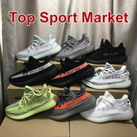 2018 350 V2 Shoes Sneakers SESAME F99710 Mens Womens Shoes B...