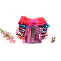 HotBeap Special Drawstring Bröllop Smycken Candy Cosmetic Present Organza 17x23cm Väskor Kan skriva ut Logo 300pcs Partihandel gjorda i Kina Kinesisk stil