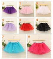 2016 new girls glitter ballet Dancewear tutu skirt Girls Bli...
