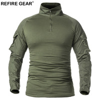 Refire Gear Spring Autumn Sports Outdoor T- shirt Long Sleeve...