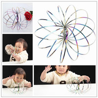 Magic Ring Toroflux Colorful Torofluxus Flowtoy Amazing Flow...