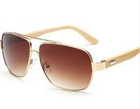 Square Echtbambus Sonnenbrille Männer Frauen Outdoor Brille UV400 Holz Sonnenbrille Männliche Verspiegelte Brillen Oculos lunettes 1511