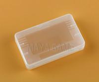 Estuche rígido de plástico transparente para el juego de tarjetas Advance GBA SP GBM GBA Games Card (caja)