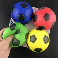 Squishy Colorful PU Sport Ball Soft Jumbo Ball Scented Squee...