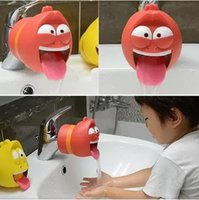 lovely worm shaped Kids Cartoon Wash Helper Children Guiding...