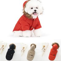 Winter Warm Coat For Dogs Cute Teddy Puppy Schnauzer Apparel...