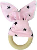 10pcs Bebê infantil INS Teethers Argola de Dentição Natural Wood Circle macia Terry pano de algodão boutique Dentes Prática YE015