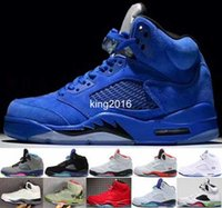 Cheap 5 V Red Royal Suede Blue White Grape Cement Olympic OG...
