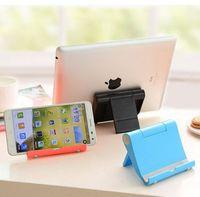 Recém titular do telefone para iphone x 8 dobrável telefone móvel tablet suporte de mesa suporte para samsung huawei tablet