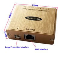Dual Bi-Directional Hi-Fi Audio Isolation Extender to Cat5 Adapter With Eliminate Noise Hum Killer Audio Extender