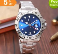 44MM AAA quality Brand Luxury full stainless steel Watch Men...