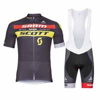 Wholesale 4xl jerseys for online - Scott Summer Cycling jersey Set  Polyester Bike Sportswear Mountain Bicycle ada68d88f
