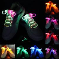 3ra generación Cool Intermitente LED Light Up Cordones de flash Impermeable Shoestring 3 modos Cordones de zapatos OPP Embalaje de alta calidad ENVÍO RÁPIDO