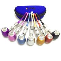 k1000 E tubo starter kit vape con doppio bobine di vetro atomizzatore serbatoio vaporizzatore penna vape per e vaporizzatore liquido ego
