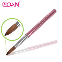 10 Pcs Free Shipping 8 Brush For Nail Acrylic Brush Pen Meta...